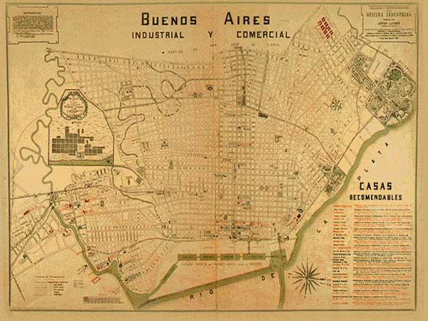 Cronologia de la ciudad de Buenos Aires.